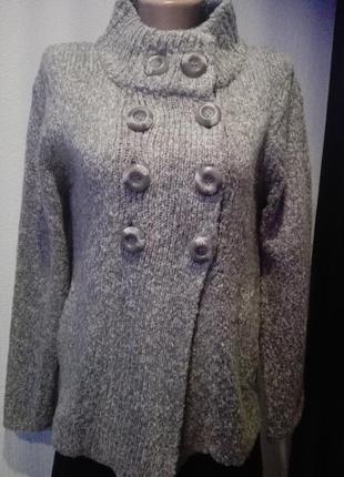 Кофта свитер пуловер джемпер мягкий очень теплая трапеция