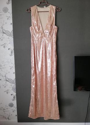Вечірня сукня паєтки s-m