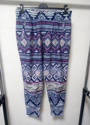 Летние брюки размер l