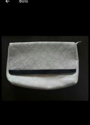 Продам качественный клатч из натуральной кожи &other storied