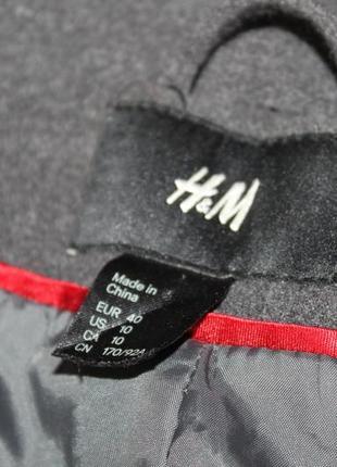 Пальто серое базовое6 фото
