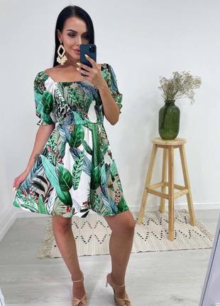 Цветные платья из натурального льна