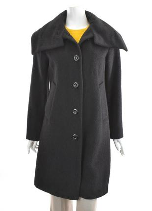 Reiss шерстяное зимнее пальто альпака и мохер размер с