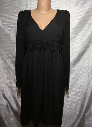 Платье-мини разлетайкой известного французского бренда naf-naf