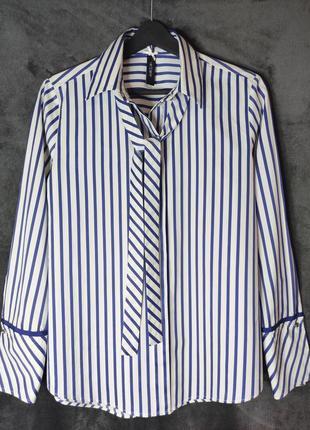 Шикарна сорочка преміального бренду marc cain, ідеальний стан, м