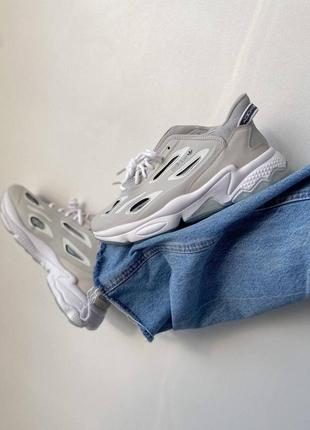 Ozweego celox grey one/ftr white/halo blue кроссовки адидас озвиго наложенный платёж купить