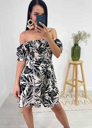 Платье из натурального льна/женский стиль/платье женское.