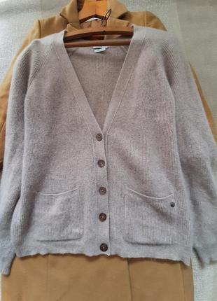 Роскошный кашемировый кардиган свитер на пуговицах 100% кашемир