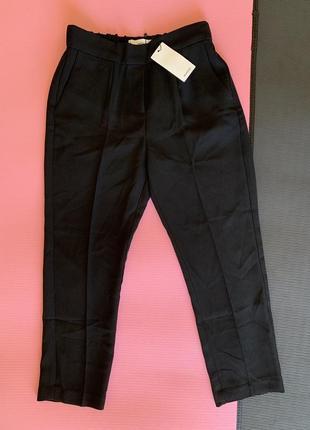 Штани жіночі класичні чорні, легкі штани, легкие класичесские брюки.