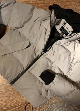 Рефлекторна куртка/дутая куртка
