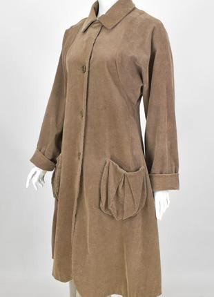 Lilith вельетовый плащ пальто с карманами размер с / 38 annette gortz rundholz oska