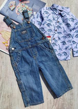 Комбинезон oshkosh и рубашка next (цена за 1 вещь, смотрите описание)