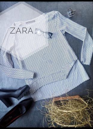 Блуза из вискозы zara размер м/10/38