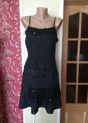 Класнюче чорне плаття ,,розмір 14\42