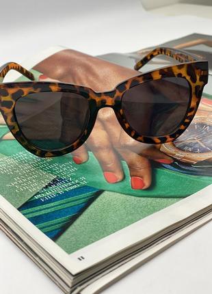 Женские солнцезащитные очки 2021 леопардовые очки