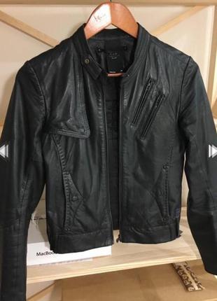 Кожаная куртка g-star raw