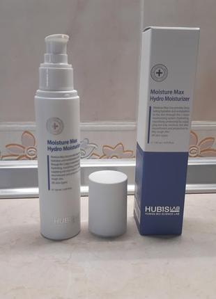 Зволожуюча емульсія moisture max hydro moisturizer 120ml. hubislab. корея