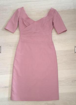 Платье из костюмной шерсти новое