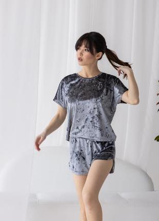 Пижама, домашний костюм велюровый от nicoletta