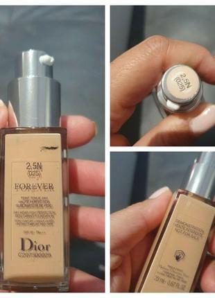 Тональная основа dior forever teint tenue 24h haute perfection spf 35# 2.5n