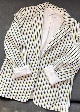 Жакет стильный женский, пиджак на подкладке