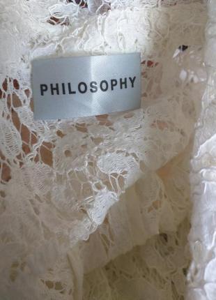 Philosophy люкс жилетка кружево гипюр