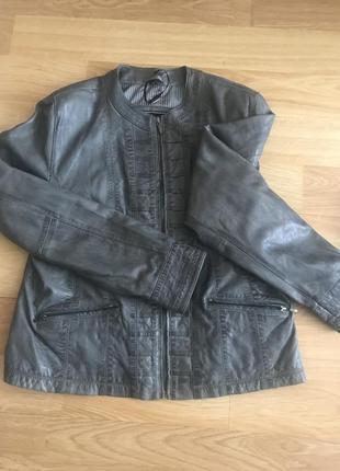 Кожаная куртка на подкладке