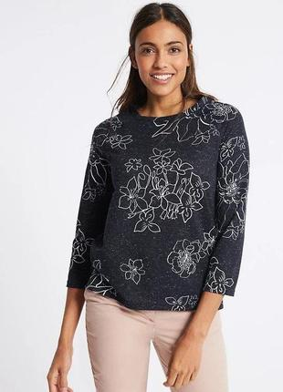 Симпатичная кофточка ,блузка m&s большого размера