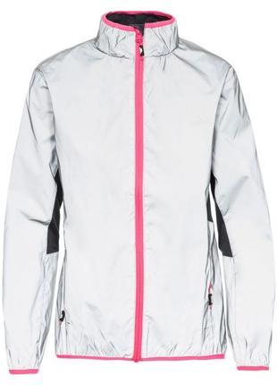 Рефлективна куртка вітровка дощовик trespass