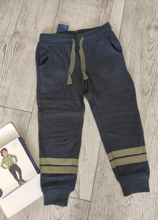 Спортивные штаны джоггеры с начесом lupilu 86/92, 98/104 см