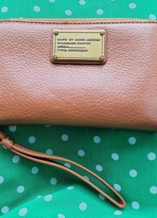 Кожаный кошелёк,  партмоне от marc jacobs , оригинал