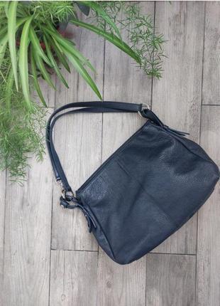 Кожаная сумка производства италии