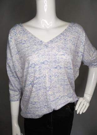 Женственная блуза (трикотаж )