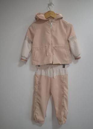 Стильный костюм zara 18-24m