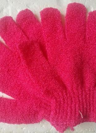 Массажная перчатка скраб