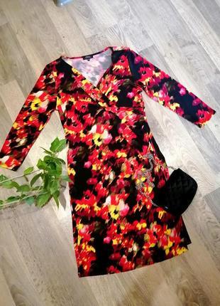 Шикарное, яркое, оригинальное платье сукня. лёгкое, тонкое. papaya