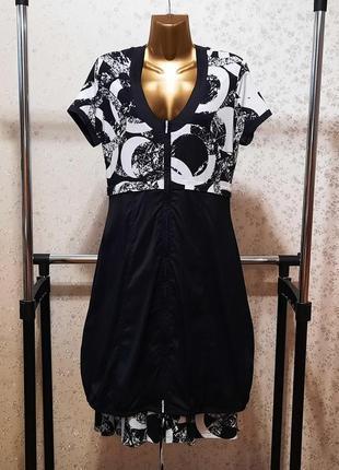 Платье халат кокон бохо р. 44 46 48 хлопок вискоза