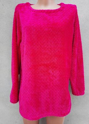 Велюровый свитер, размер 46/48
