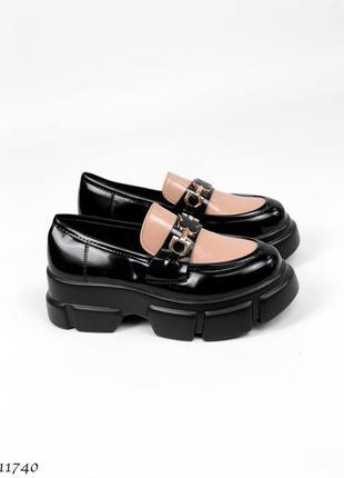 Шикарные туфли броги лоферы