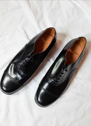 Мужские туфли ботинки кожаные