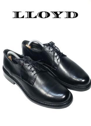 Кожаные мужские туфли lloyd оригинал