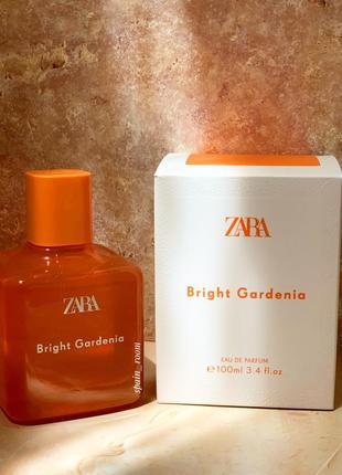 Духи zara bright gardenia/жіночі парфуми /парфюм