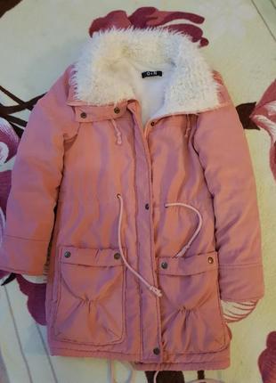 """Женская куртка/парка.демисезонная.размер """"м"""""""