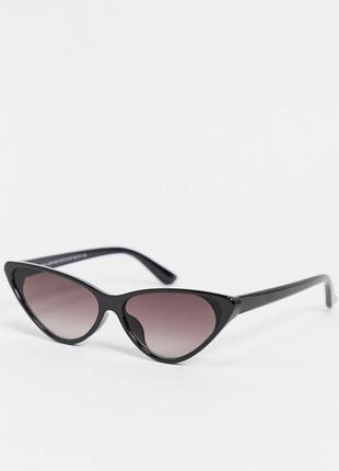 Новые солнцезащитные очки кошачий глаз new look