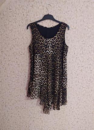 Сарафан шифоновый, летнее платье