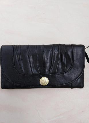 Кожаный кошелек  tcm tchibo.