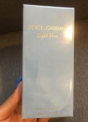 Туалетная вода dolce&gabbana light blue