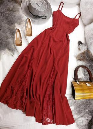 Шикарное нарядное вечернее платье длинное