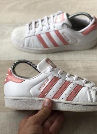 Adidas superstar спортивні шкіряні кросівки оригінал