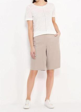 Design essentials шорты юбка жатка плиссе